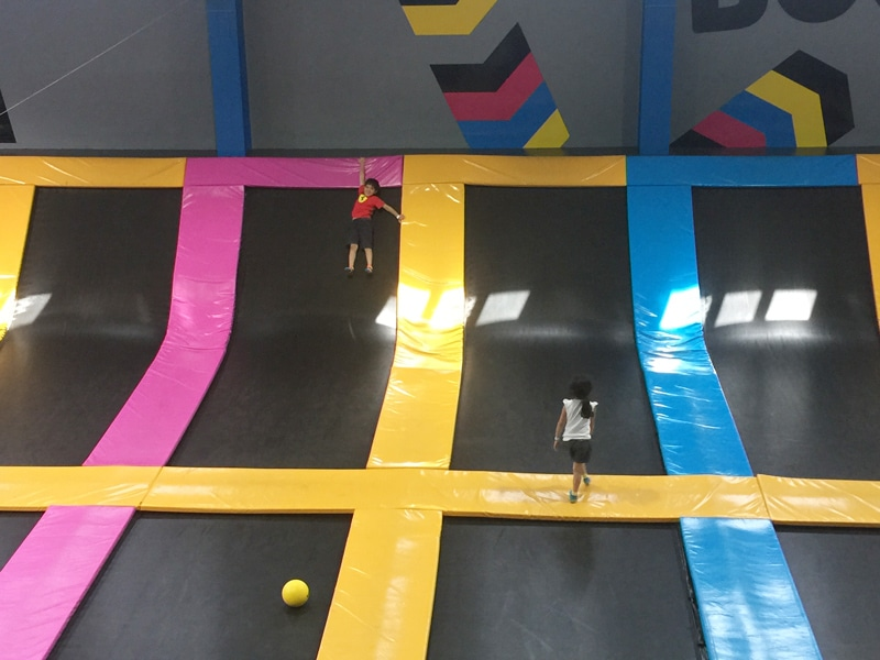 bounce dubai trampoline activities for kids in dubai