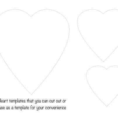 heart-template