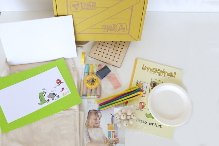 what is inside koala crate review monthly subscription box