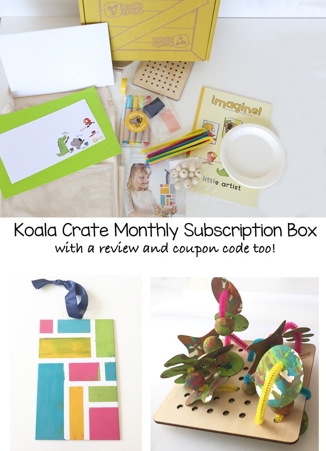 Do you want to do kids indoor activities like arts and crafts but of the planning and prep part of the process? You may be unsure of which supplies are necessary for activities with your toddler or preschooler. This is where the monthly subscription box koala crate by kiwi crate solves your problem! The review includes a thorough look at the contents, experience by age in doing the activities and honest thoughts on if it is worth a subscription.