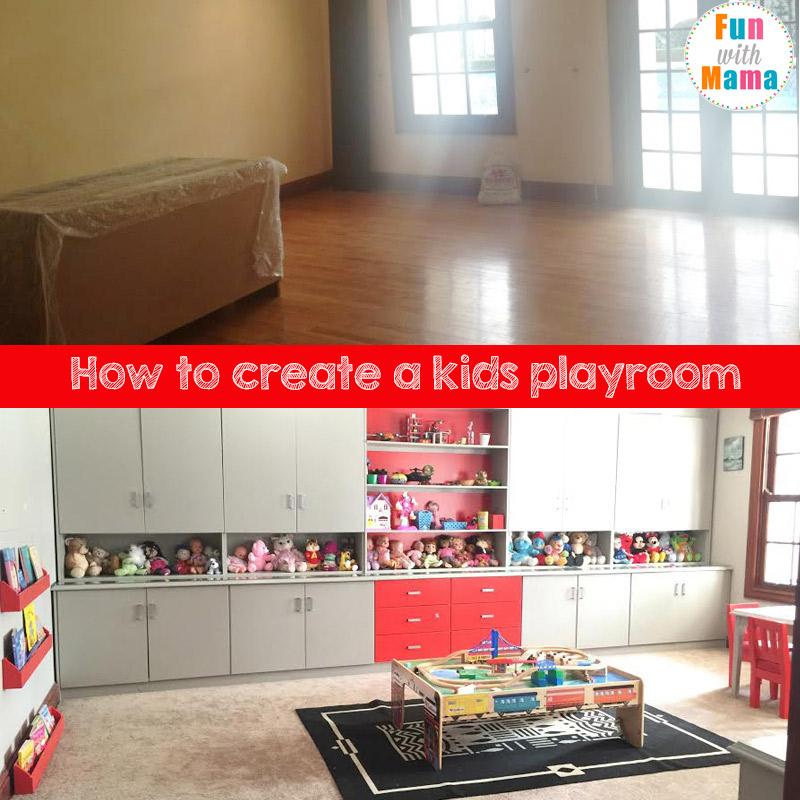 create a kids playroom