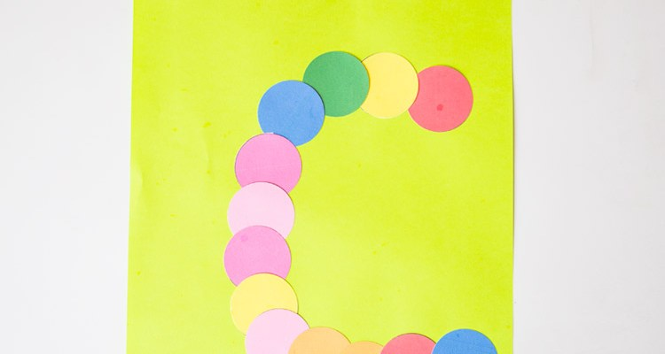 Printable Letter C Craft: C is for Caterpillar