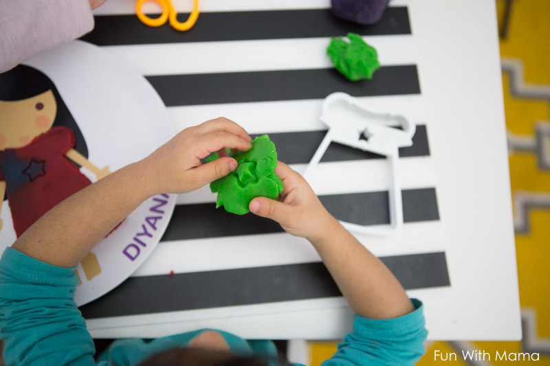 playdough activities for fine motor skills