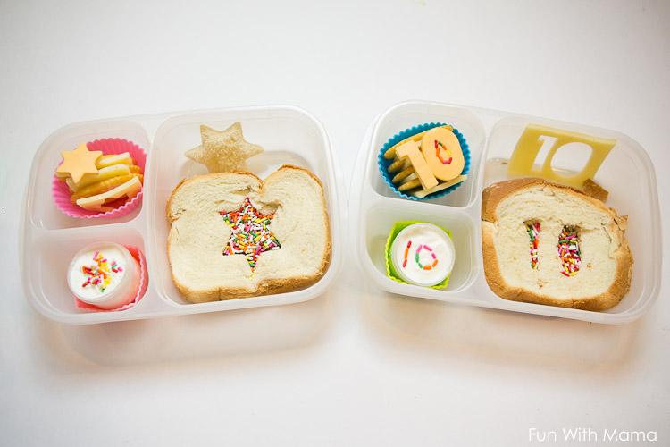 kids birthday school lunch ideas