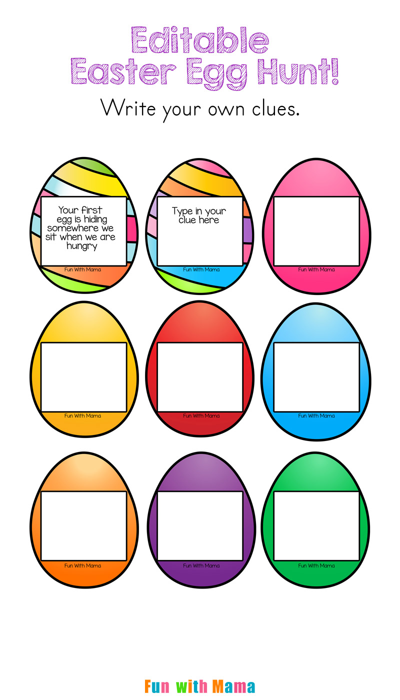 Images of easter egg hunt ideas the miracle of easter