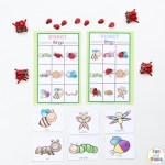 Insect Printable Bingo Game For Kids