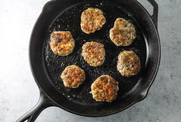 This gluten free, Low Fodmap Breakfast Sausage recipe offers a delicious way to round out any morning meal!