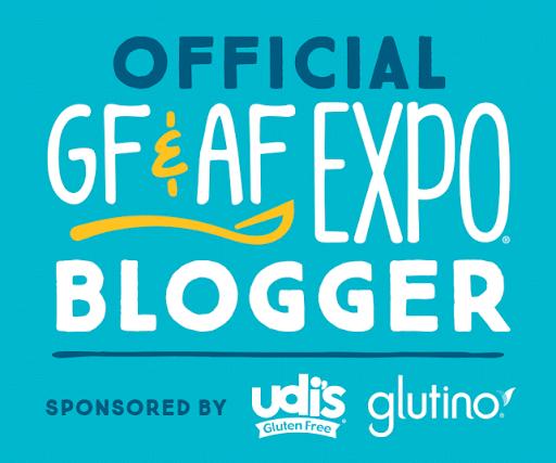 2017 Gluten Free & Allergen Friendly Expo Official Blogger
