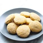 Low FODMAP Pumpkin Cookies - A fall-inspired sweet treat with just a hint of pumpkin and vanilla. They're also gluten free!