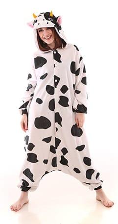 Funzoo – Cow Adult Onesie Pajamas