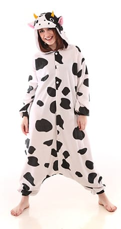 Funzoo – Cow Adult Onesie Pajamas