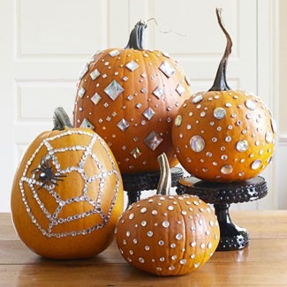 Jeweled pumpkin