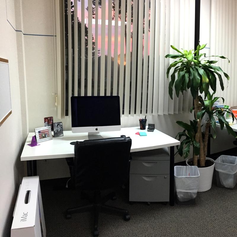 Fuquay Coworking Dedicated Desk Area