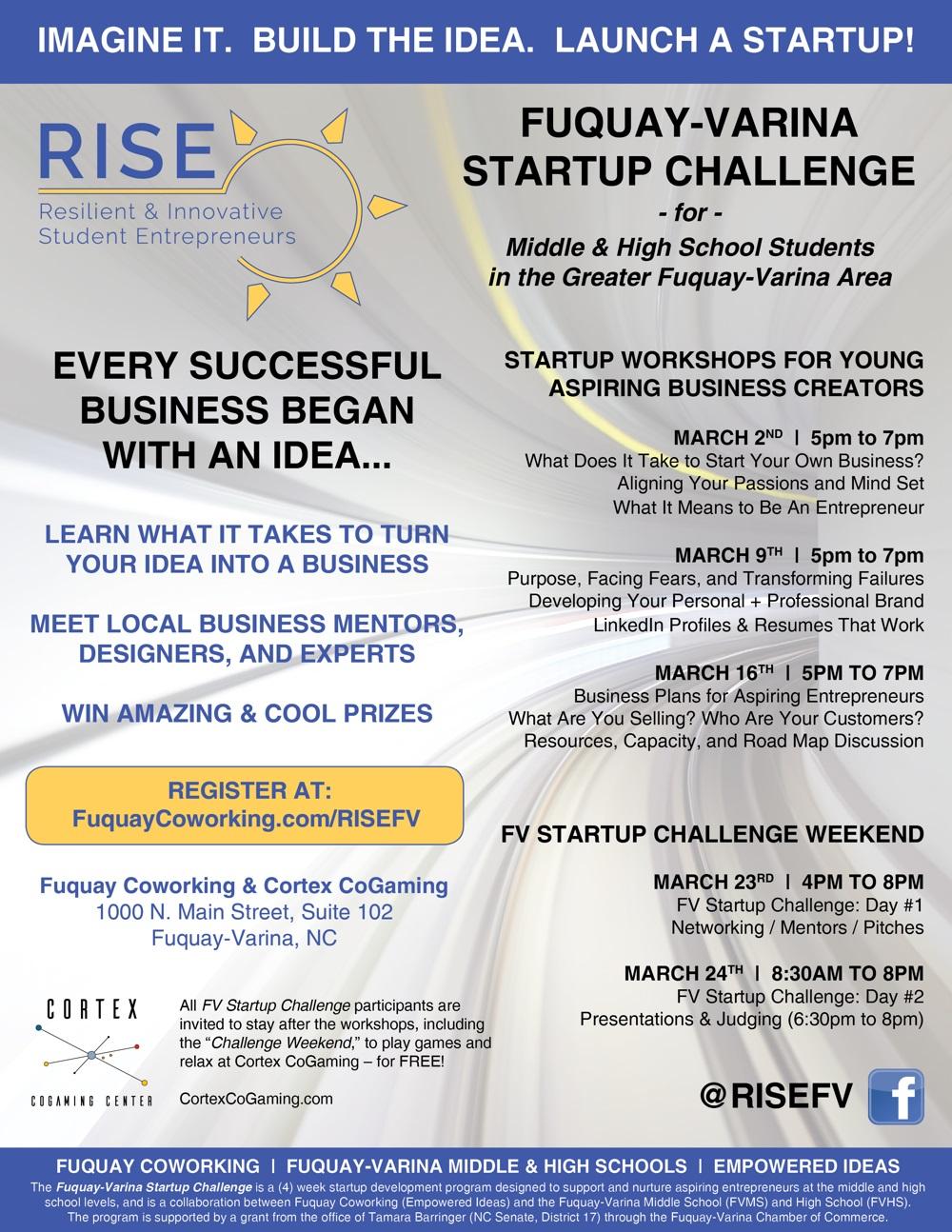 RISE FV Startup Challenge