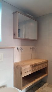 badkamermeubel voor coating