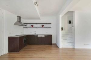 Keuken en trap