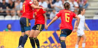Hermoso (Espagne) but face aux USA