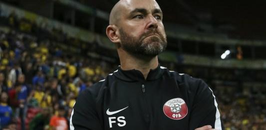 Felix Sanchez Bas, entraineur du Qatar