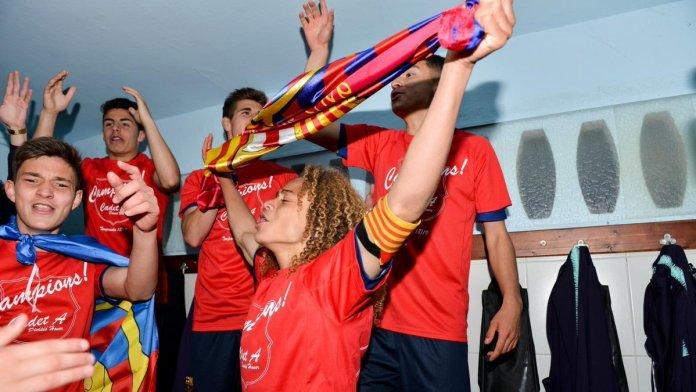 Xavi Simmons FC Barcelone