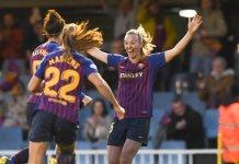 Toni Duggan au Barça