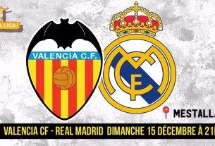 VALENCE - REAL MADRID