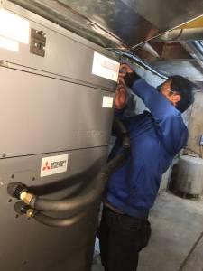 Zuba Heat Pump Installation