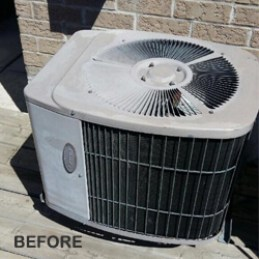 AC Installation - Before