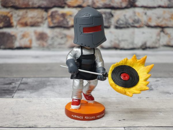 Furnace Record Pressing Bobblehead