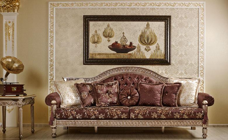Kursi Mewah Ruang Tamu Belinda