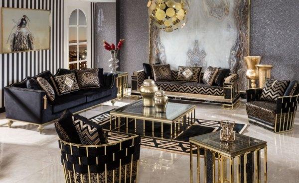 Sofa Klasik Mewah Klasik Vidal