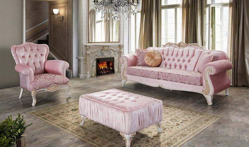Sofa Elegan Mewah Klasik Kosk