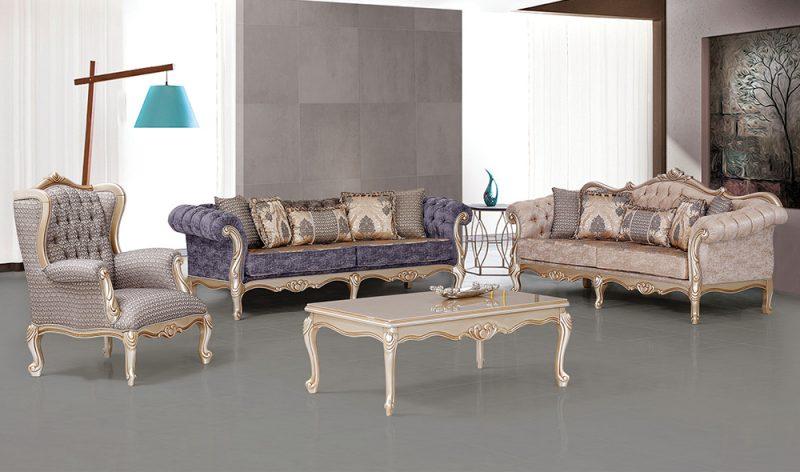 Kursi Sofa Mewah Klasik Helena