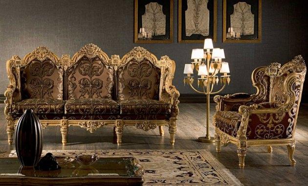 Kursi Sofa Mewah Minimalis Klasik Madrid