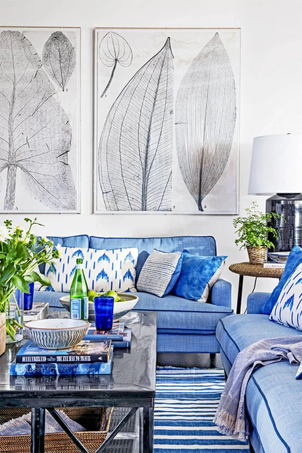 8 Cool Ideas For Blue Living Room Ideas From Tranquil To Vibrant Furniture Choice