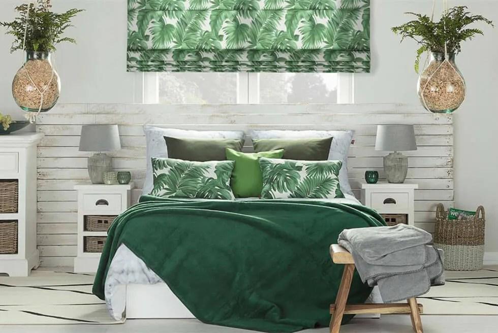 green bedroom look good inspiration