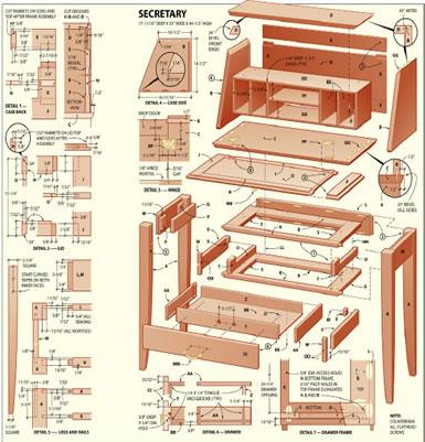 wooden furniture plans  download