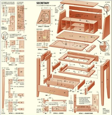 plans for wood furniture