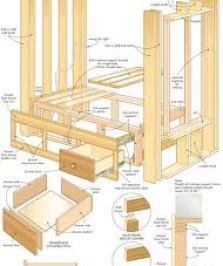 furniture woodworking plans
