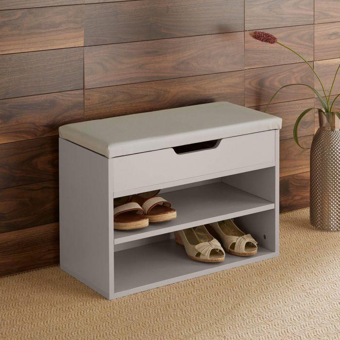 malmo grey shoe cabinet
