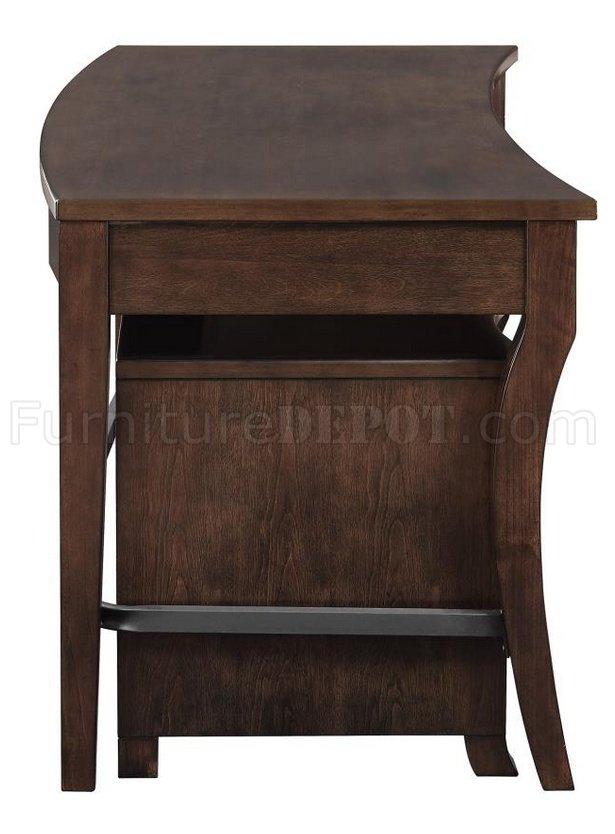 801751 Scott Living Coaster Smokey Black Writing Desk