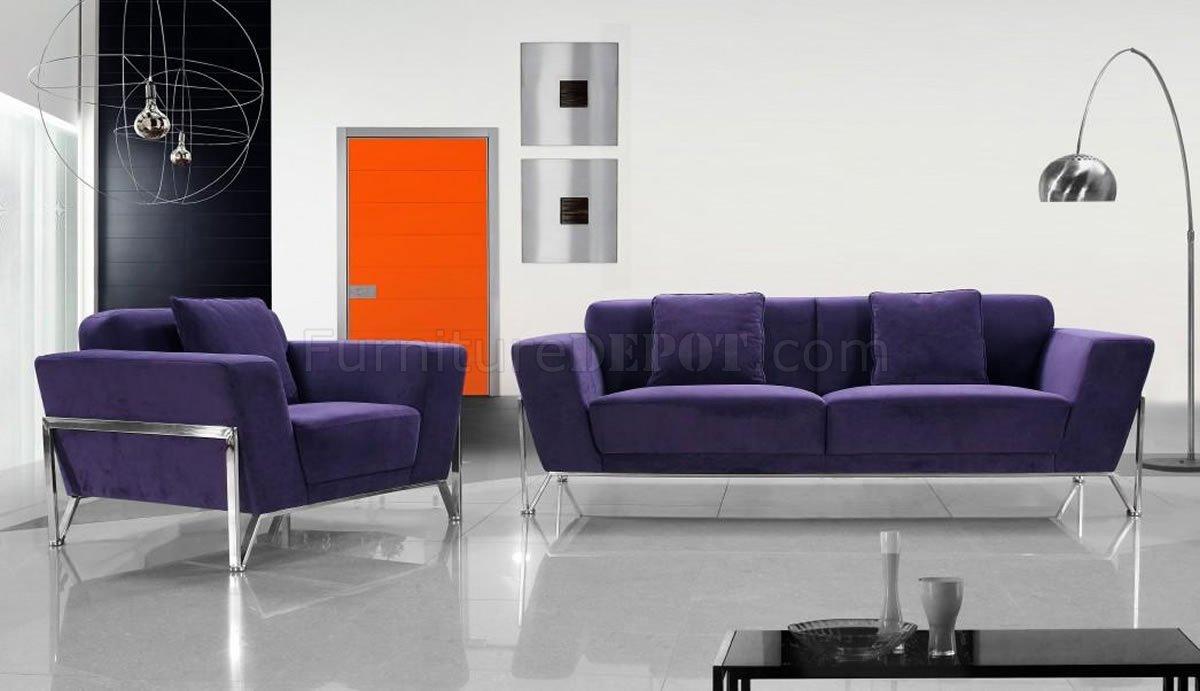 microfiber 3pc italian living room set
