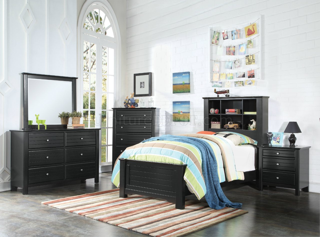 Mallowsea Youth Bedroom 30380 In Black By Acme WOptions