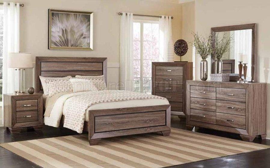 Kauffman 204191 Bedroom Set By Coaster WOptions