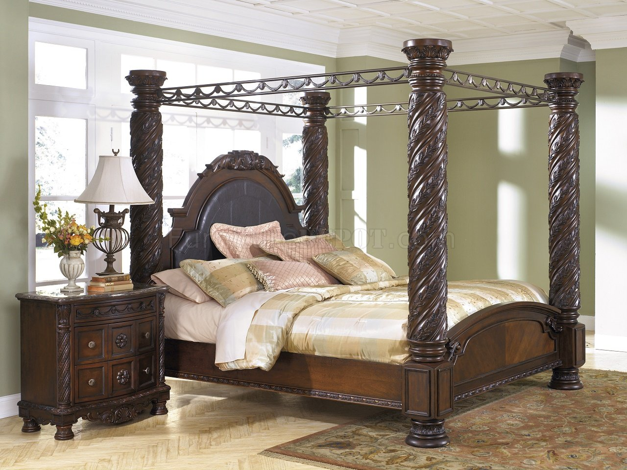 North Shore Bedroom B553 CPY Dark Brown By Ashley Furniture