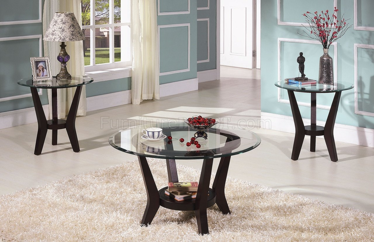 brown cherry coffee table end tables