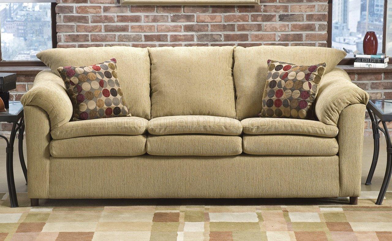 beige fabric modern living room w loose