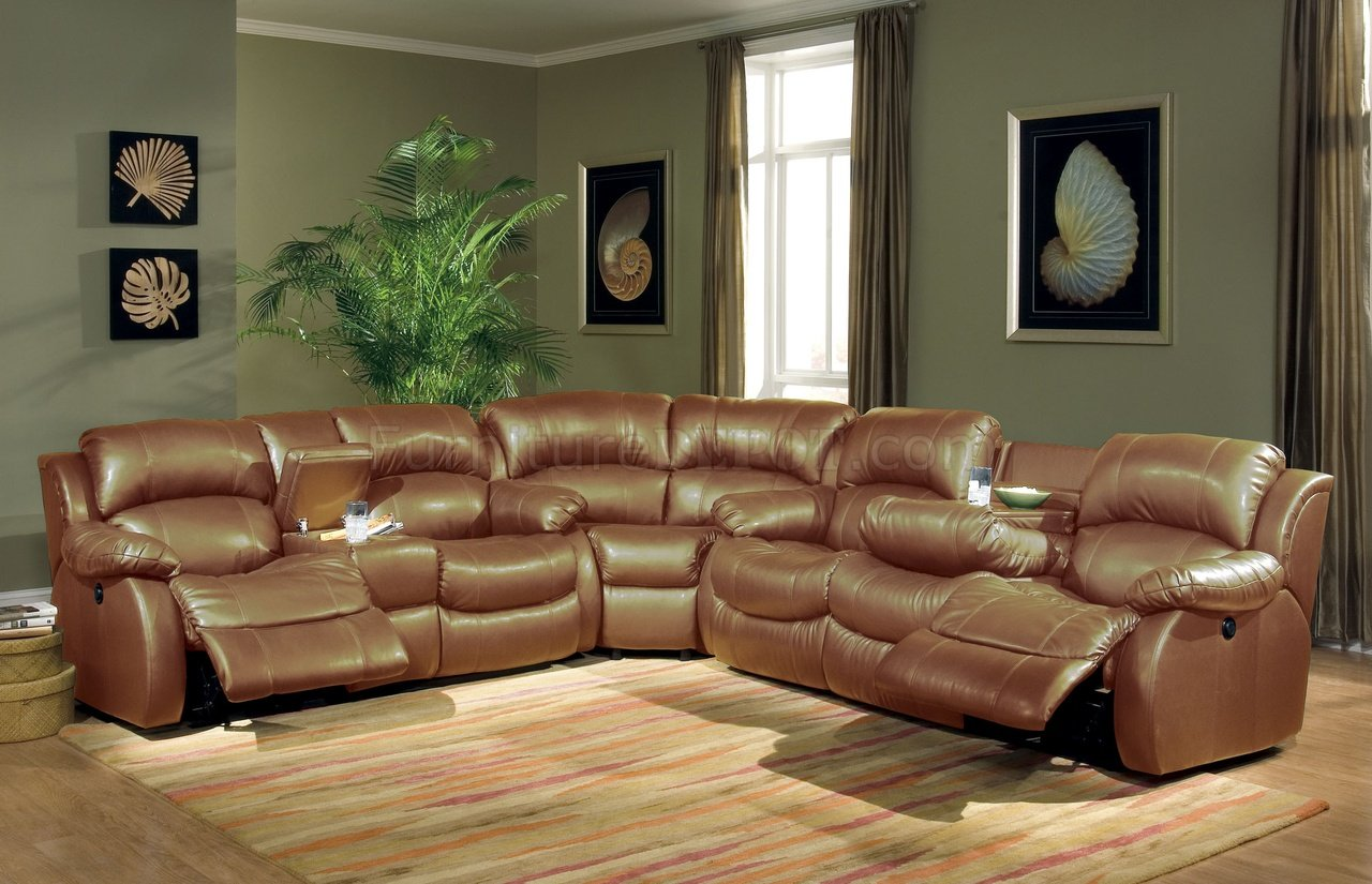 Modern House Interior Leather Sectionals With Recliners