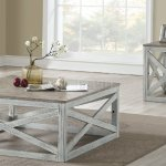Avianna 3pc Coffee End Table Set 81265 In Antique White Acme