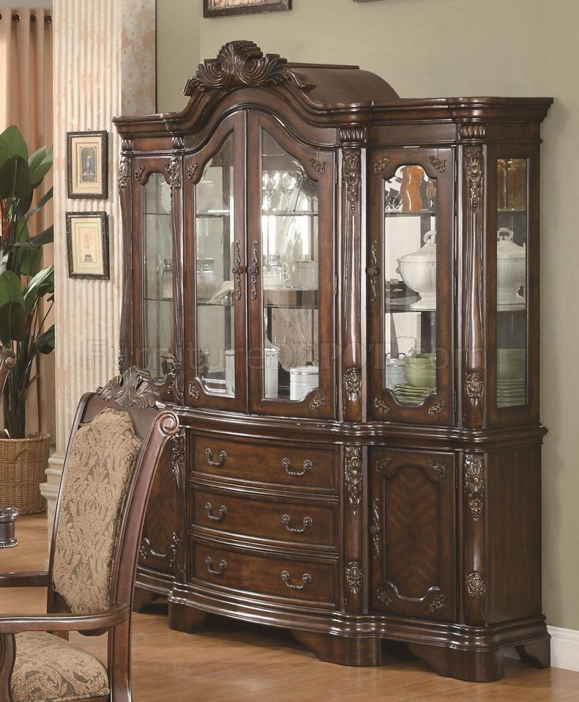 Andrea 103114 Buffet In Brown By Coaster WOptional Hutch