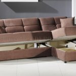 Vision Sec Rainbow Sectional Sofa Bed Storage In Truffle By Istikbal